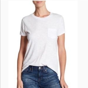 2 Madewell Whisper Tees Navy and Black